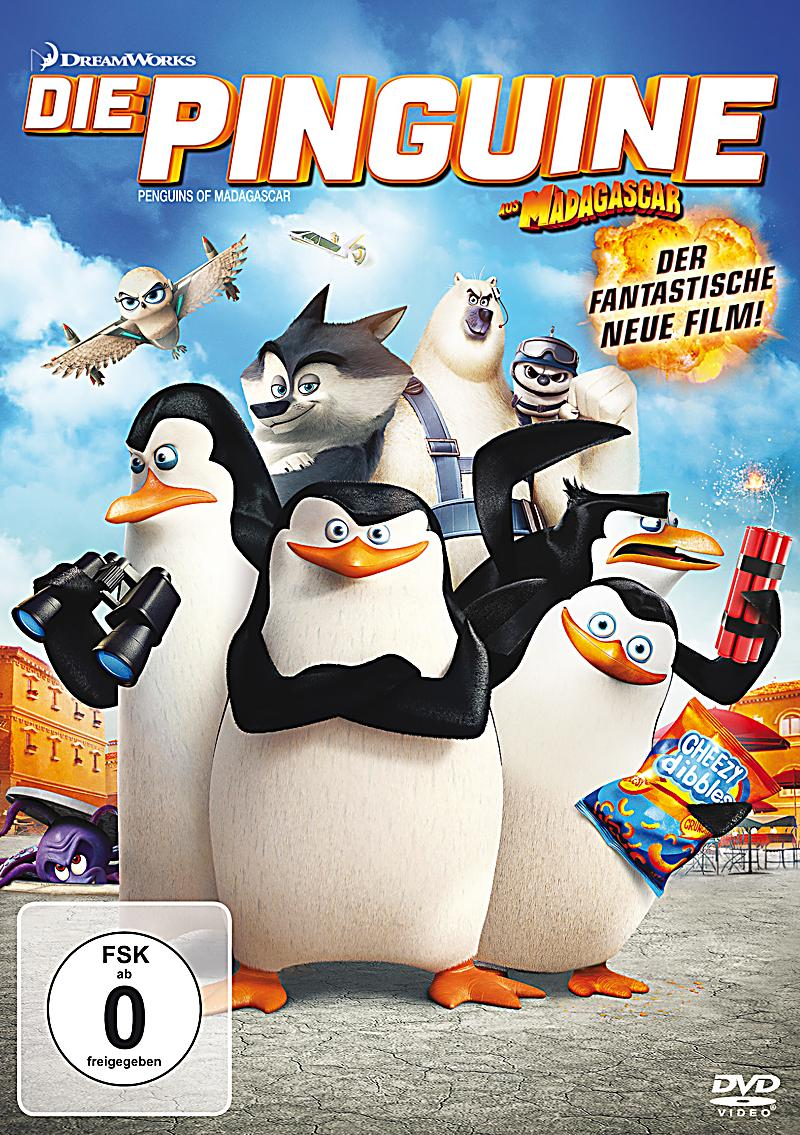 die pinguine aus madagascar der film dvd. Black Bedroom Furniture Sets. Home Design Ideas