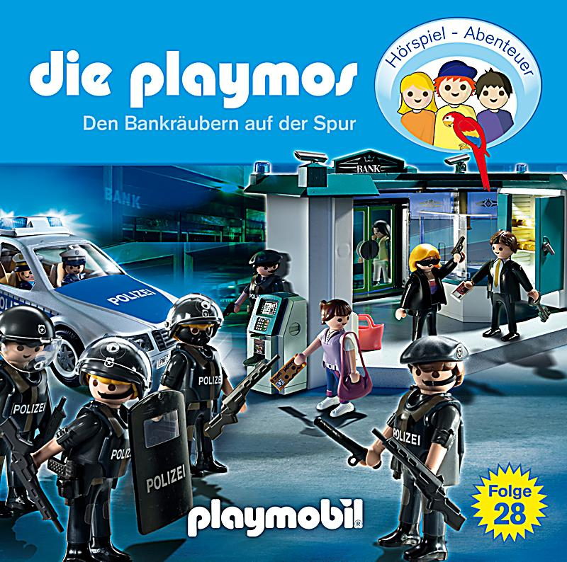 die playmos band 28 den bankr ubern auf der spur 1 audio cd h rbuch. Black Bedroom Furniture Sets. Home Design Ideas