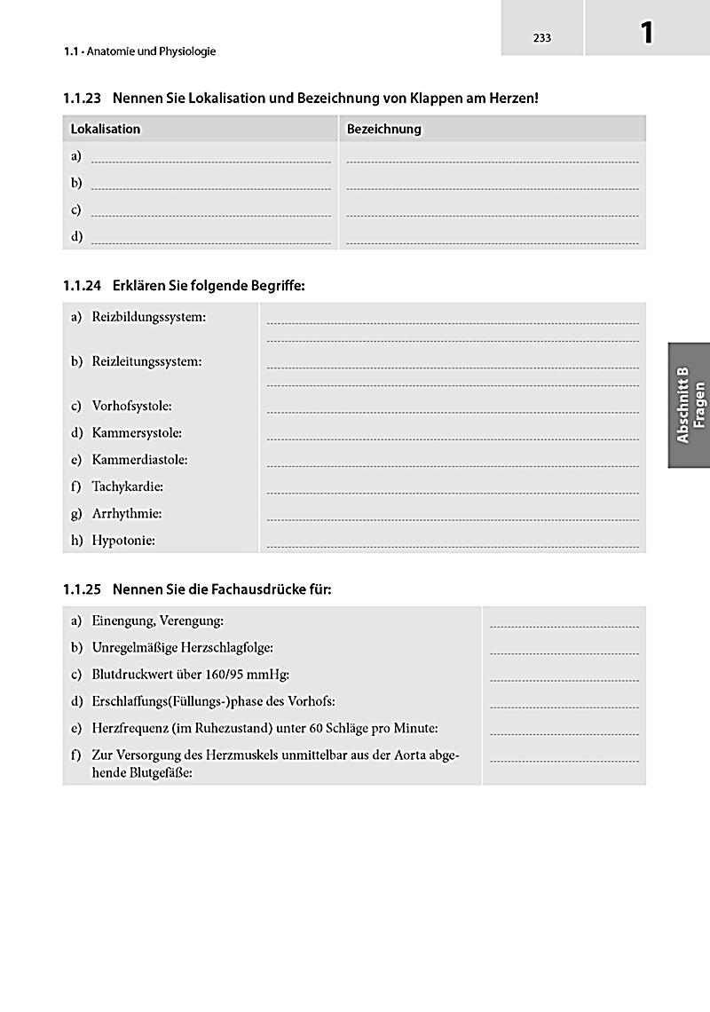 Großzügig Anatomie Prüfungsfragen Ideen - Menschliche Anatomie ...
