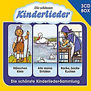 die sch nsten kinderlieder 3 cd liederbox vol 1. Black Bedroom Furniture Sets. Home Design Ideas
