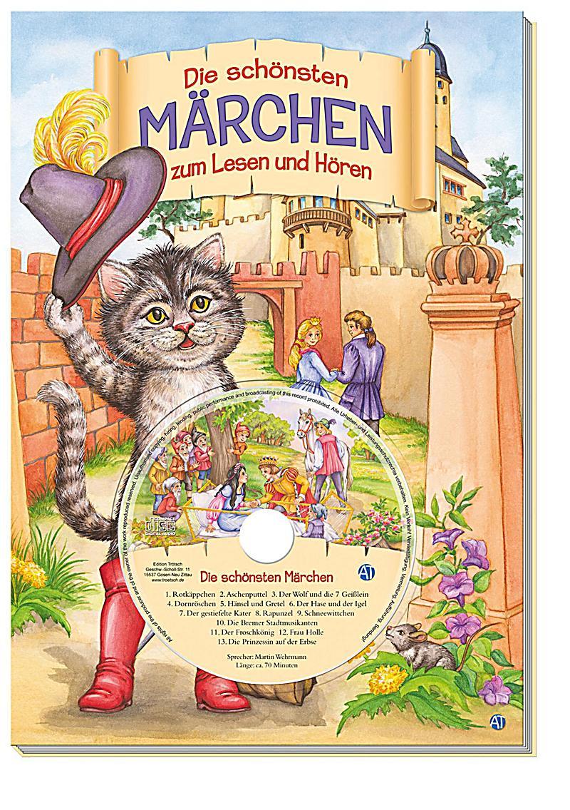 Die schönsten Märchen zum Lesen und Hören, m. Audio-CD Buch