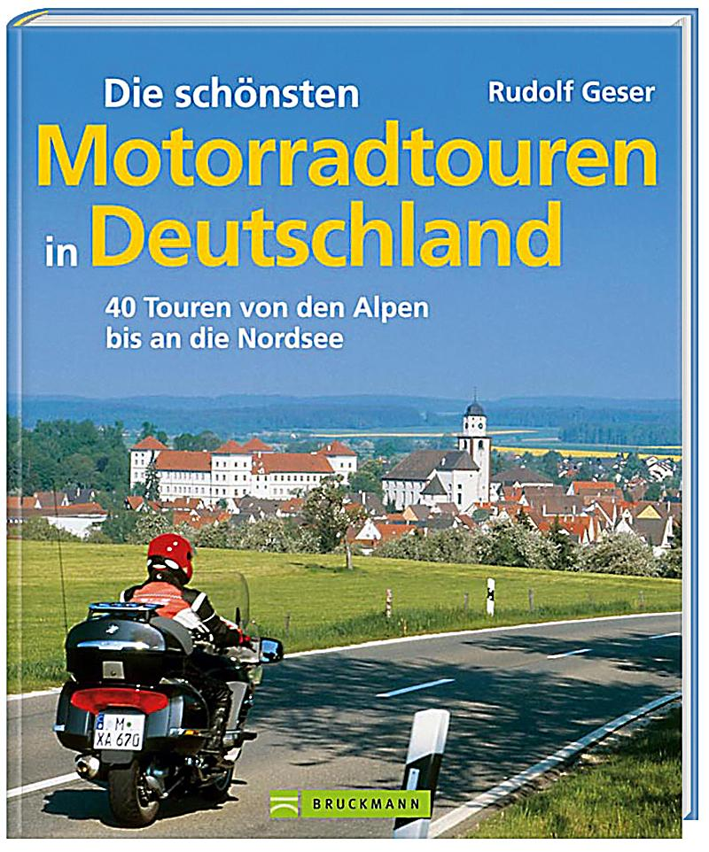 die sch nsten motorradtouren in deutschland buch portofrei. Black Bedroom Furniture Sets. Home Design Ideas