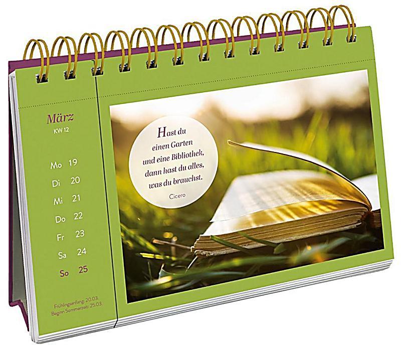 die sch nsten weisheiten 2018 kalender bei. Black Bedroom Furniture Sets. Home Design Ideas