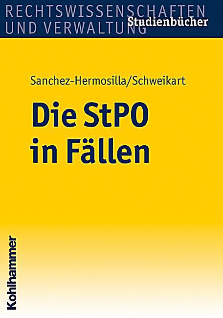 Die StPO in Fällen Buch jetzt portofrei bei Weltbild.de ...
