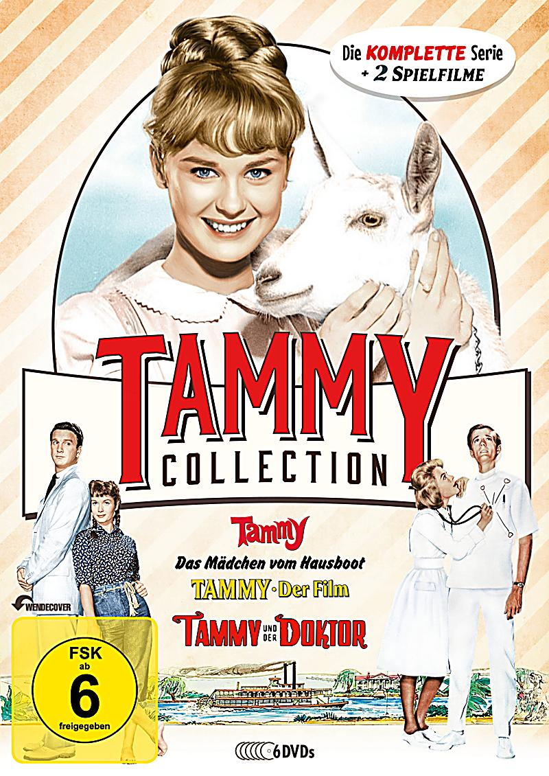 die tammy collection die komplette serie spielfilme auf 6 dvds film. Black Bedroom Furniture Sets. Home Design Ideas