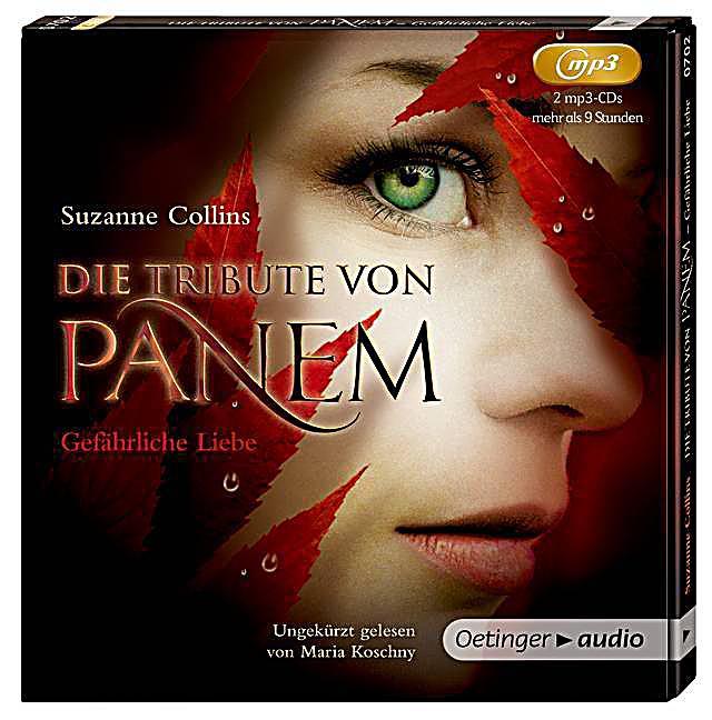 Die tribute von panem band 2 gef hrliche liebe mp3 cd h rbuch for Die tribute von panem 2