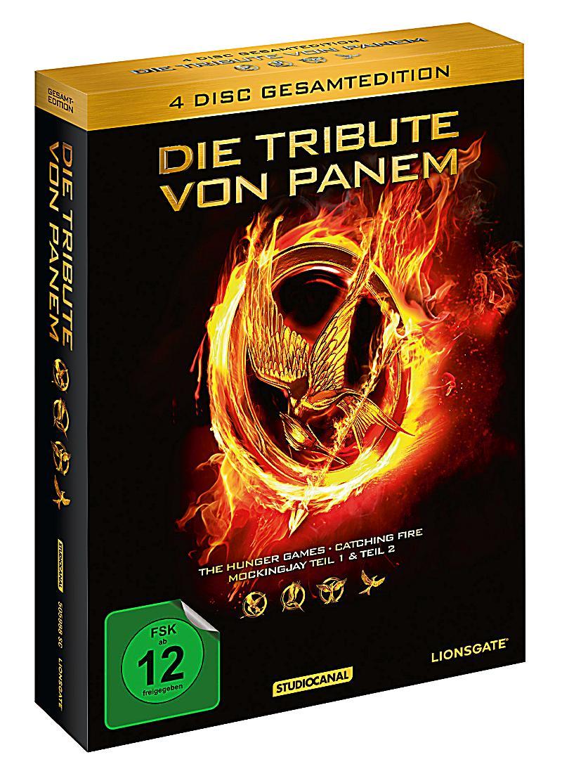 Die tribute von panem gesamtedition dvd for Die tribute von panem film