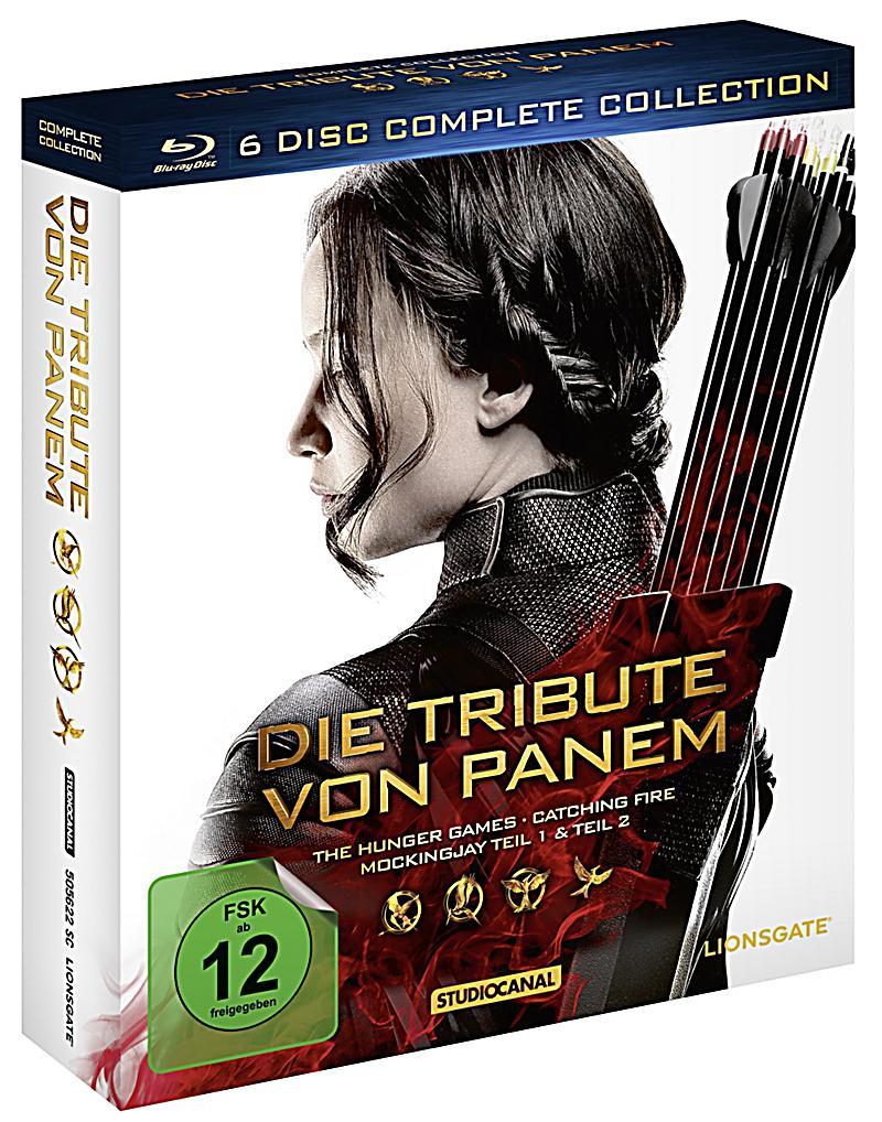 Die tribute von panem komplettbox blu ray for Die tribute von panem 2