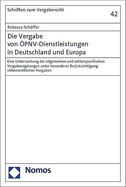 vergabe deutschland