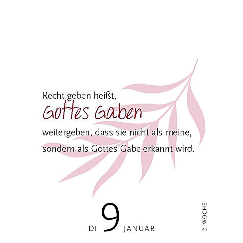 Dietrich Bonhoeffer - Tageskalender 2018 - Kalender bestellen