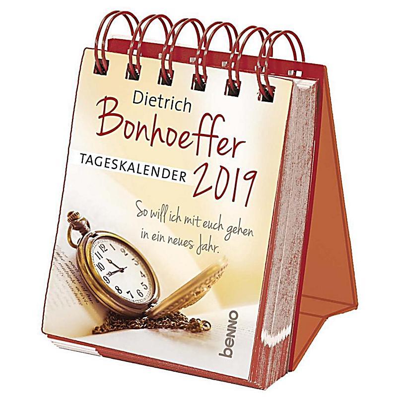 Dietrich Bonhoeffer - Tageskalender 2019 - Kalender bestellen