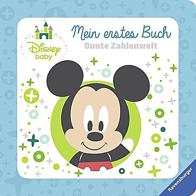 disney baby mein erstes buch micky maus bunte zahlenwelt buch. Black Bedroom Furniture Sets. Home Design Ideas