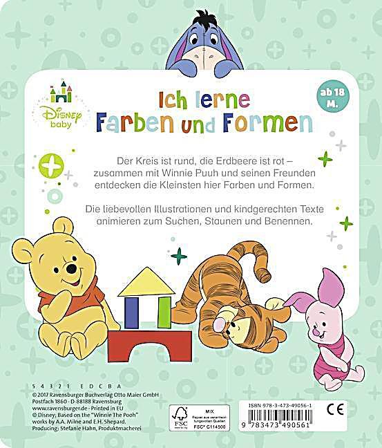 Disney Baby Winnie Puuh: Ich lerne Farben und Formen jetzt kaufen