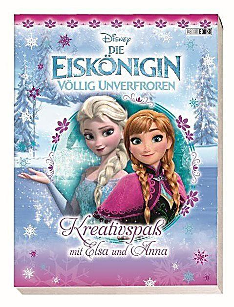 disney die eisk nigin v llig unverfroren kreativspass mit elsa und anna. Black Bedroom Furniture Sets. Home Design Ideas
