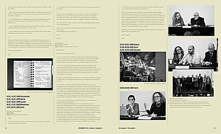 Documenta 13 Das Logbuch Katalog 2 3 The Logbook Catalog