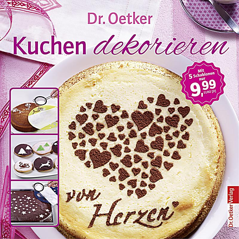 dr oetker kuchen dekorieren m 5 deko schablonen buch. Black Bedroom Furniture Sets. Home Design Ideas