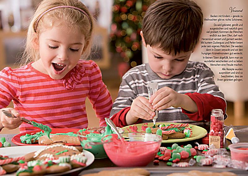 dr oetker weihnachten mit kindern backen blechdose mit buch. Black Bedroom Furniture Sets. Home Design Ideas