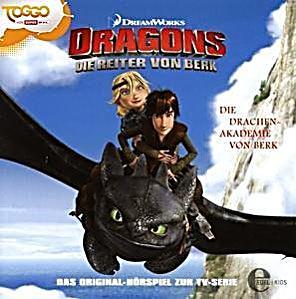 dragons die reiter von berk die drachen akademie von berk 1 audio cd h rbuch. Black Bedroom Furniture Sets. Home Design Ideas