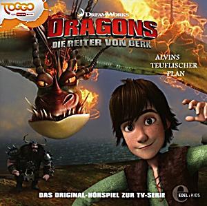 dragons die reiter von berk teuflischer plan audio cd h rbuch. Black Bedroom Furniture Sets. Home Design Ideas