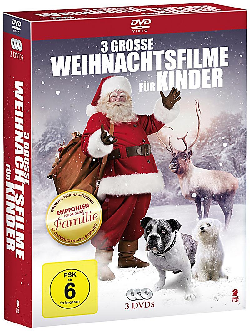 drei grosse weihnachtsfilme f r kinder dvd. Black Bedroom Furniture Sets. Home Design Ideas
