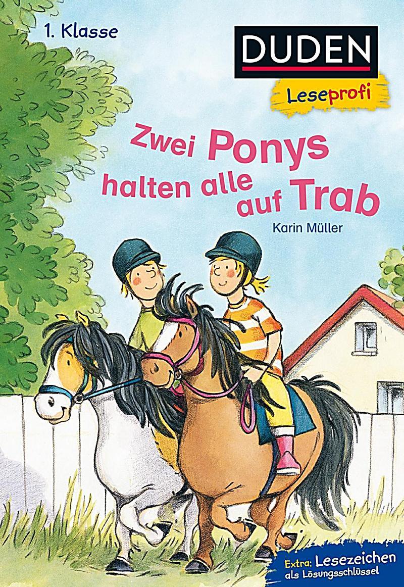 Duden Leseprofi - Zwei Ponys halten alle auf Trab Buch - Weltbild.at