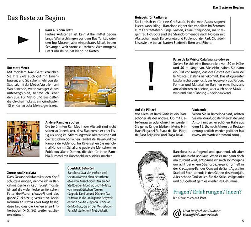 DuMont direkt Reiseführer Barcelona Buch portofrei - Weltbild.de