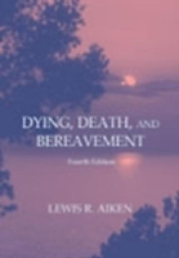 death dying and bereavement essay Grief and loss essay we may associate grief with the death of a loved one kubler-ross,e(1969) on death and dying new york:macmillan.