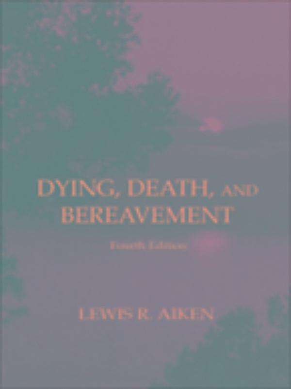 death dying grief term paper Chapter 11: multiple choice questions   what term is applied to the loss of a loved one through death what term is assigned to the emotional response associated with loss  through which process is the observable expression of grief and learning to cope with the loss accomplished how did davies (2005) argue parents deal with the death.