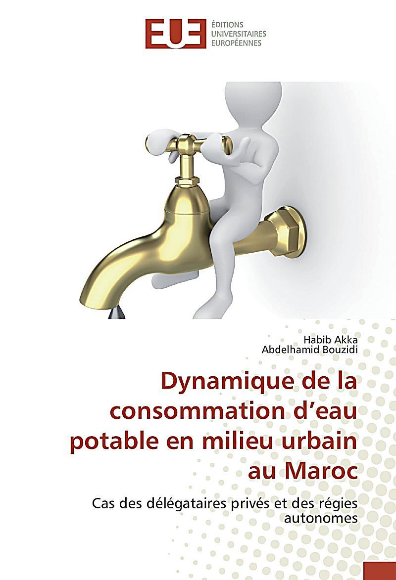 dynamique de la consommation d 39 eau potable en milieu urbain au maroc buch. Black Bedroom Furniture Sets. Home Design Ideas