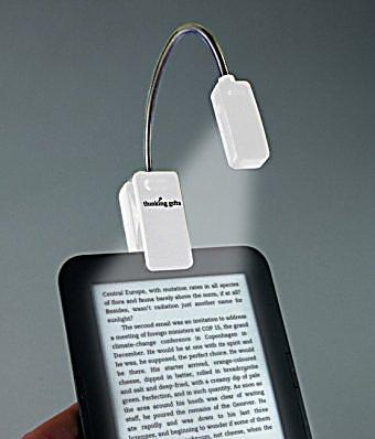 ebook reader booklight weiss leselampe bestellen. Black Bedroom Furniture Sets. Home Design Ideas
