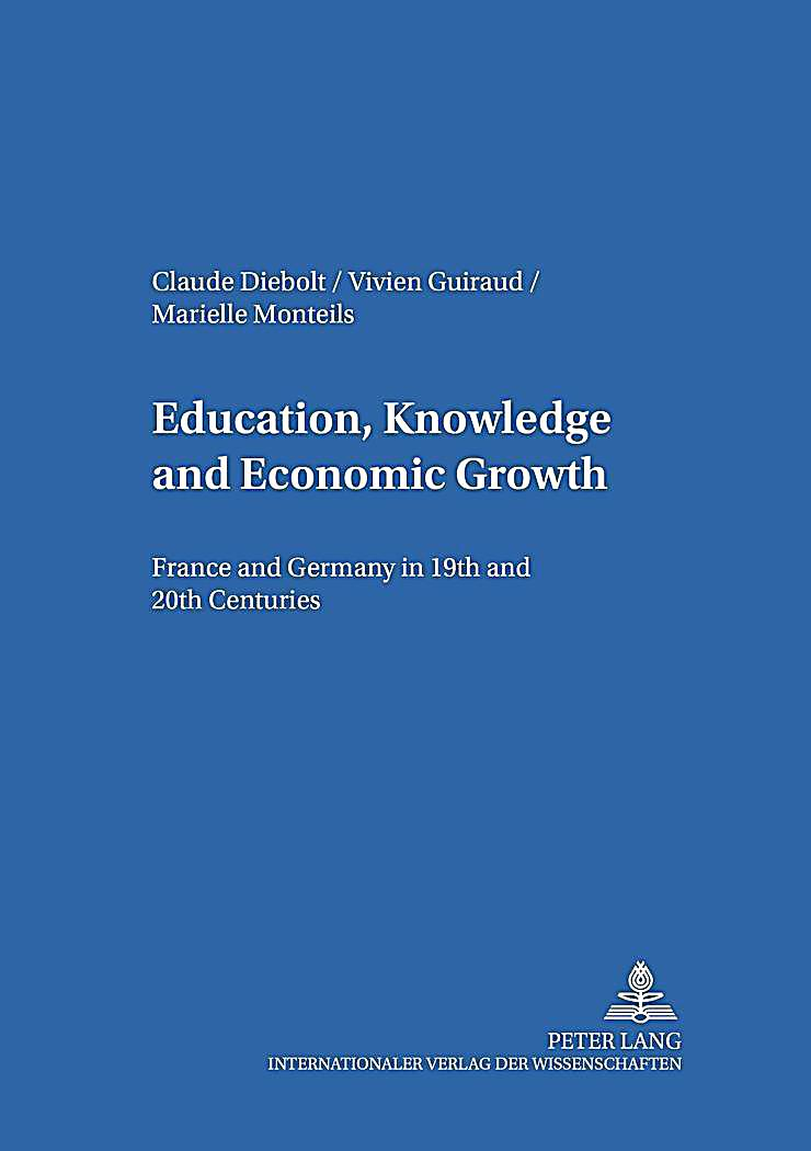 education and economic growth Formal education throughout the 20th century, and economic growth, defined as  the monetary aggregate gdp (gross domestic product) that is used widely by.
