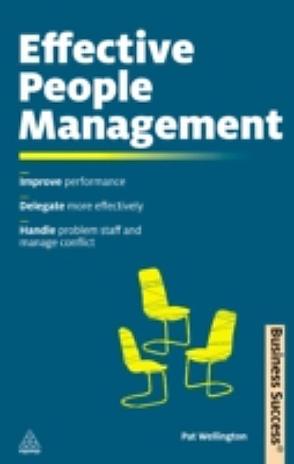 managing people more effectively So it makes good business sense to be an effective people manager  by  treating their employees as the most valuable asset of the company, they  achieved.