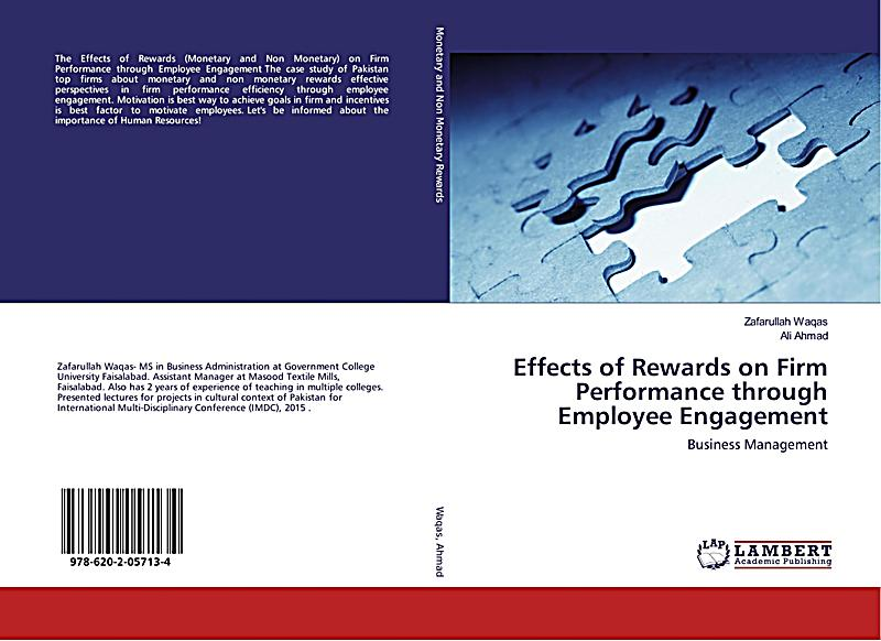 impact of rewards on employee performance Incentives and its impact on employee performance  people are motivated by money monetary rewards as a motivator is high in developing in countries.
