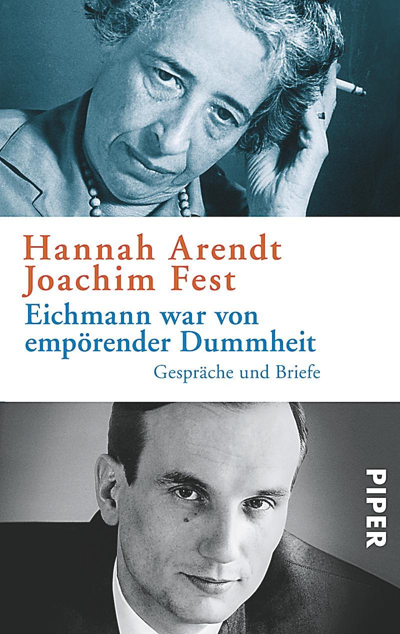 Briefe Von Und An Joseph Joachim : Eichmann war von empörender dummheit buch bestellen