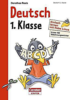 einfach lernen mit rabe linus deutsch 1 klasse buch. Black Bedroom Furniture Sets. Home Design Ideas