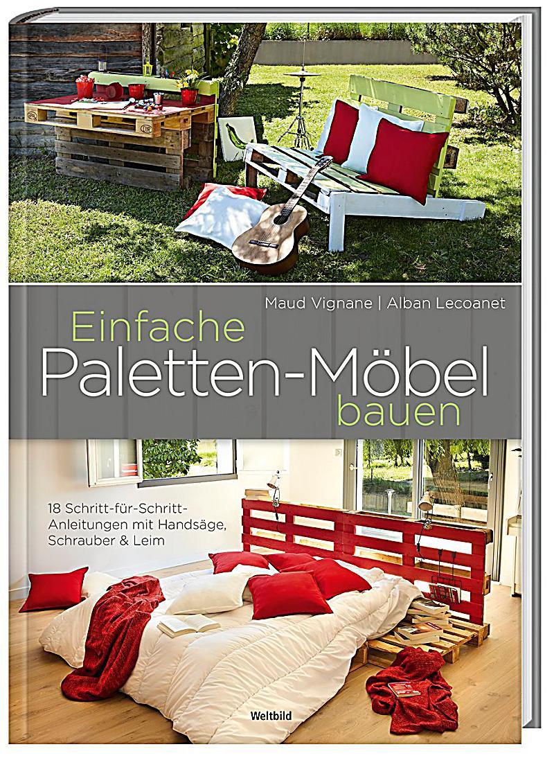 Einfache Paletten Möbel Bauen   18 Schritt Für Schritt Anleitungen, Maud  Vignane, Alban