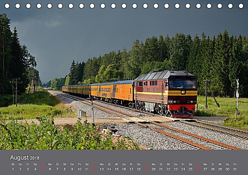 Eisenbahn kalender 2018 oberlausitz und nachbarl nder - Deko eisenbahn ...