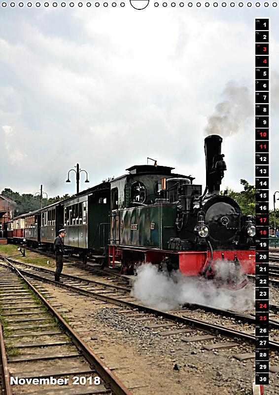 Eisenbahn nostalgie 2018 wandkalender 2018 din a3 hoch - Deko eisenbahn ...