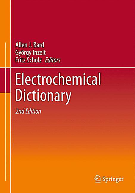electrochemical dictionary buch portofrei bei. Black Bedroom Furniture Sets. Home Design Ideas
