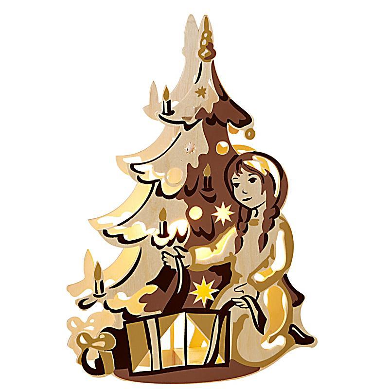 elektrisches fensterbild weihnachtsbaum bestellen. Black Bedroom Furniture Sets. Home Design Ideas