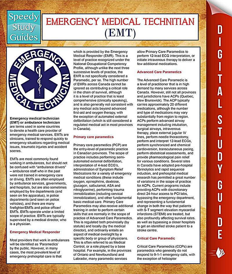 emt study guide Emt paramedic study guide 186 likes 2 talking about this we are sharing paramedic study guides  i hope these guides helps to you in nremt-emt exams.