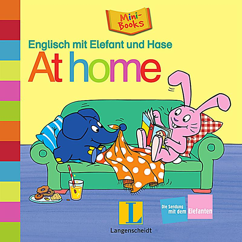 englisch mit elefant und hase at home buch. Black Bedroom Furniture Sets. Home Design Ideas