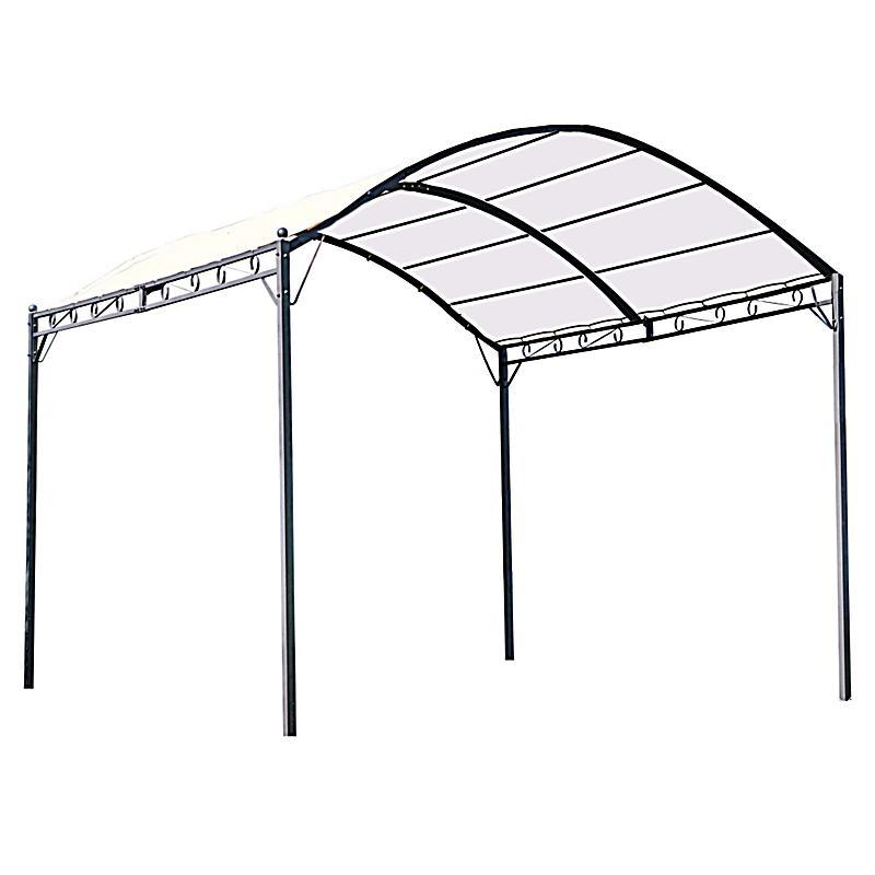 ersatzdach f r pavillon curve farbe wei. Black Bedroom Furniture Sets. Home Design Ideas