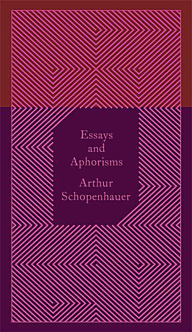 Schopenhauer essays and aphorisms