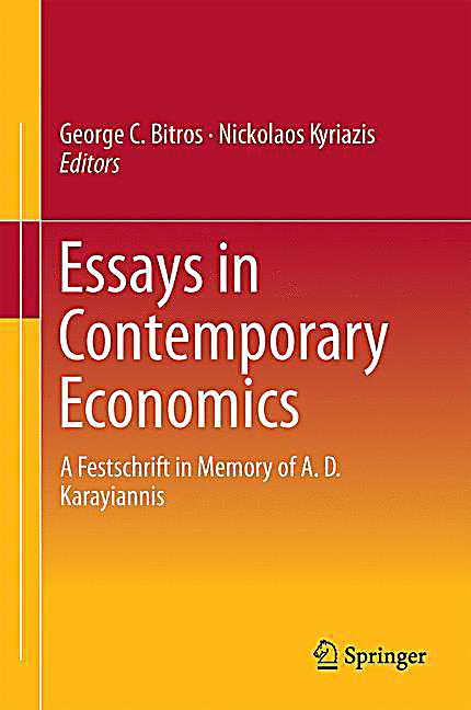 ... Boeken Economie, Management & Recht Economie Essays in Economics