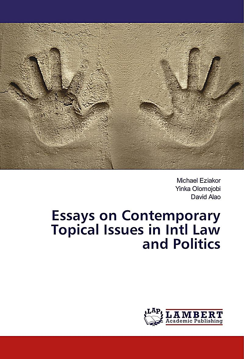 Essays on political issues