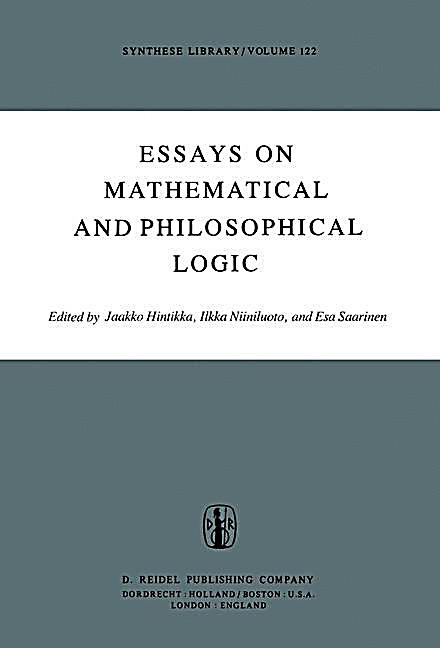 philosophy logic essay Logic circuit is one that behaves like a switch, ie a two-positive devise with on or off states this is termed as binary device, in which the.