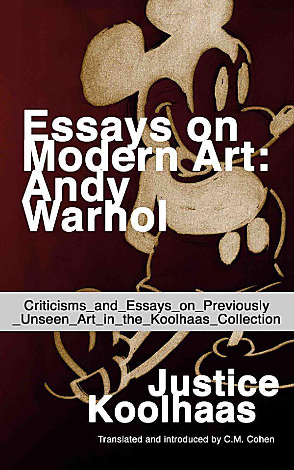 andy warhol essays