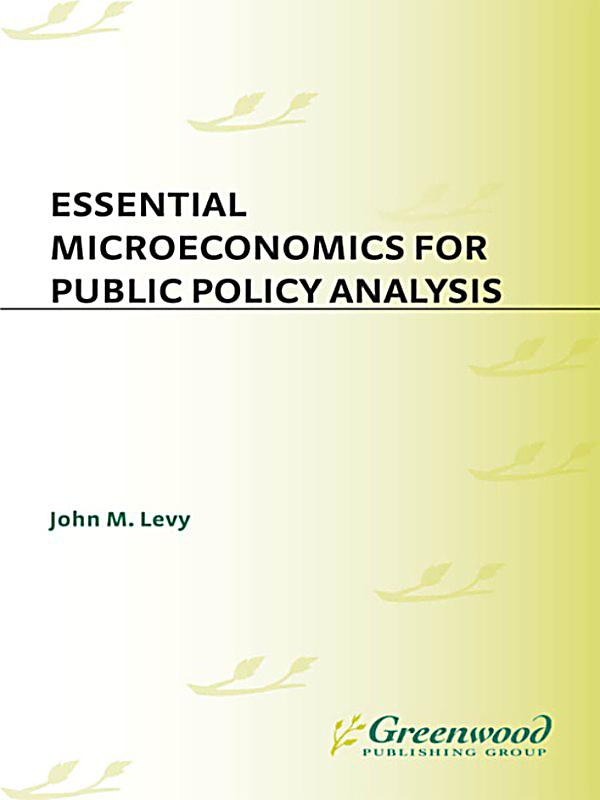 analyse how microeconomic policies can be Supply-side policies are mainly micro-economic policies aimed at making markets and industries operate more efficiently  what are supply-side policies.