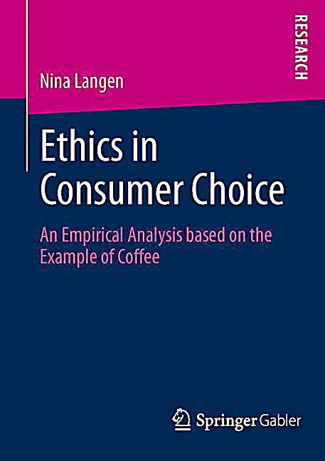 consumer ethics Tobacco is the only consumer product available that kills one-half of its regular users as such, in terms ofcsr activities, they cannot simply.